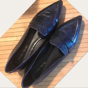 Ivanka Trump Zessios leather loafers Sz 10 fit 11